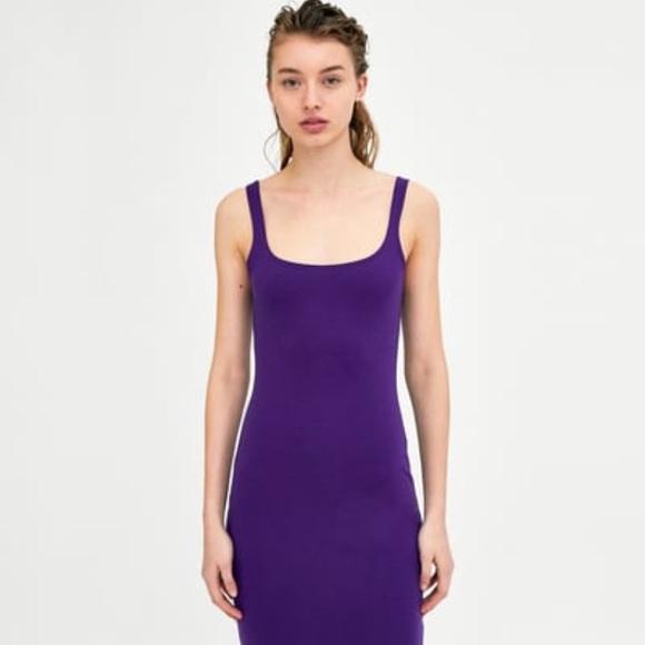 e074fb5222a2a0 NWT Zara Basic Sleeveless Dress